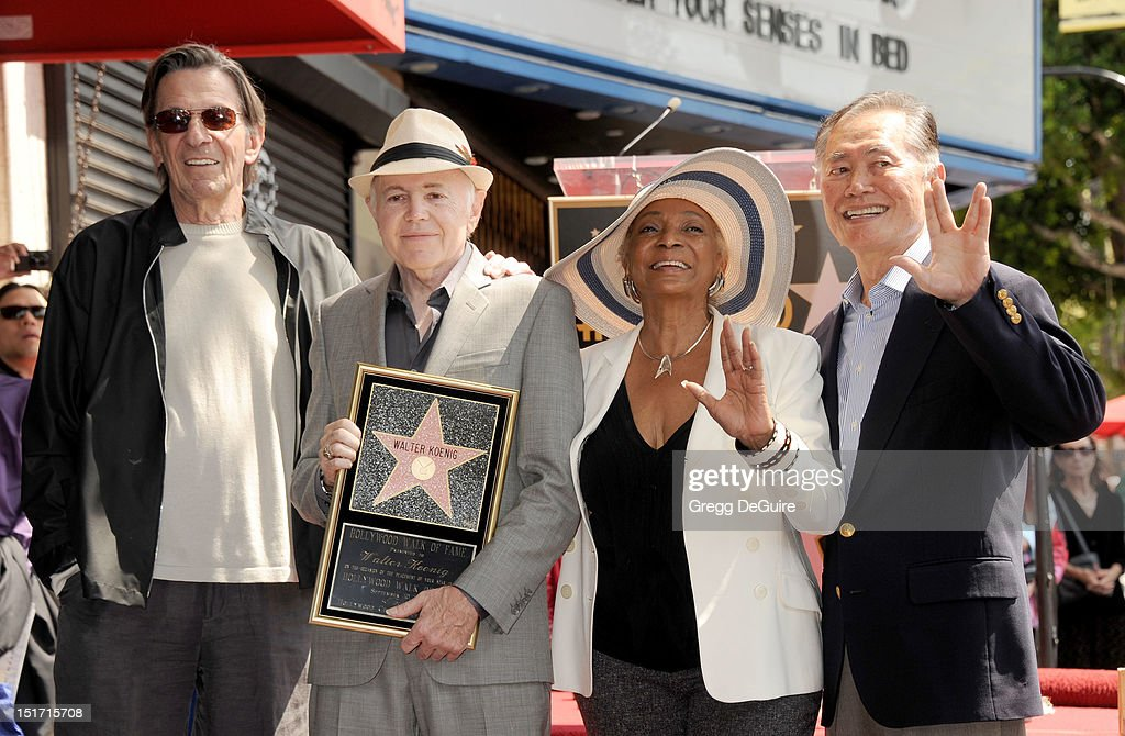 Actor Walter Koenig Honored With Star On The Hollywood Walk Of Fame