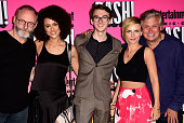Actors Liam Cunningham Nathalie Emmanuel Isaac Hempstead Wright Faye Marsay and Conleth Hill attend Entertainment Weekly's ComicCon Bash held at...