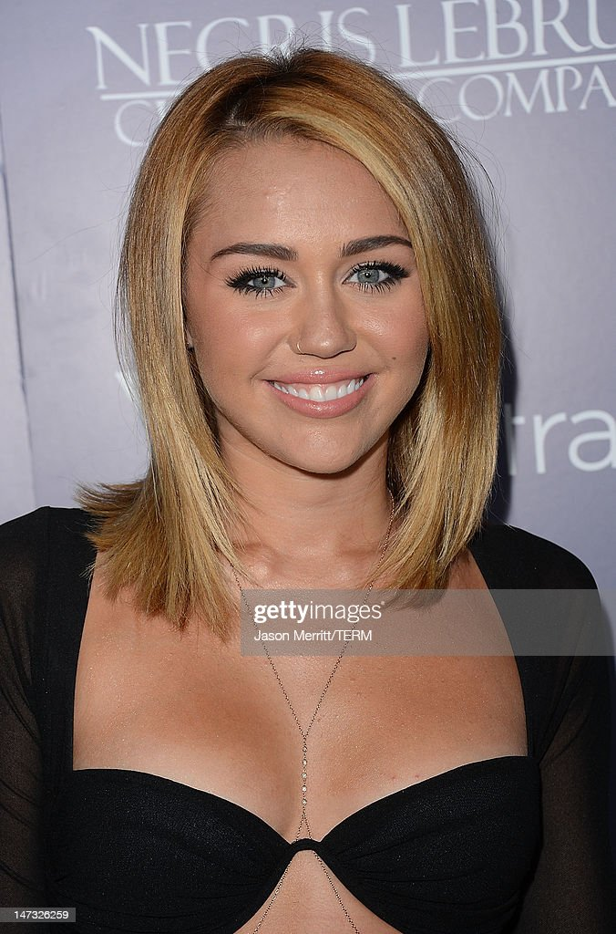 Actors Liam Hemsworth and <a gi-track='captionPersonalityLinkClicked' href=/galleries/search?phrase=Miley+Cyrus&family=editorial&specificpeople=3973523 ng-click='$event.stopPropagation()'>Miley Cyrus</a> arrive at Australians In Film Awards & Benefit Dinner at InterContinental Hotel on June 27, 2012 in Century City, California.