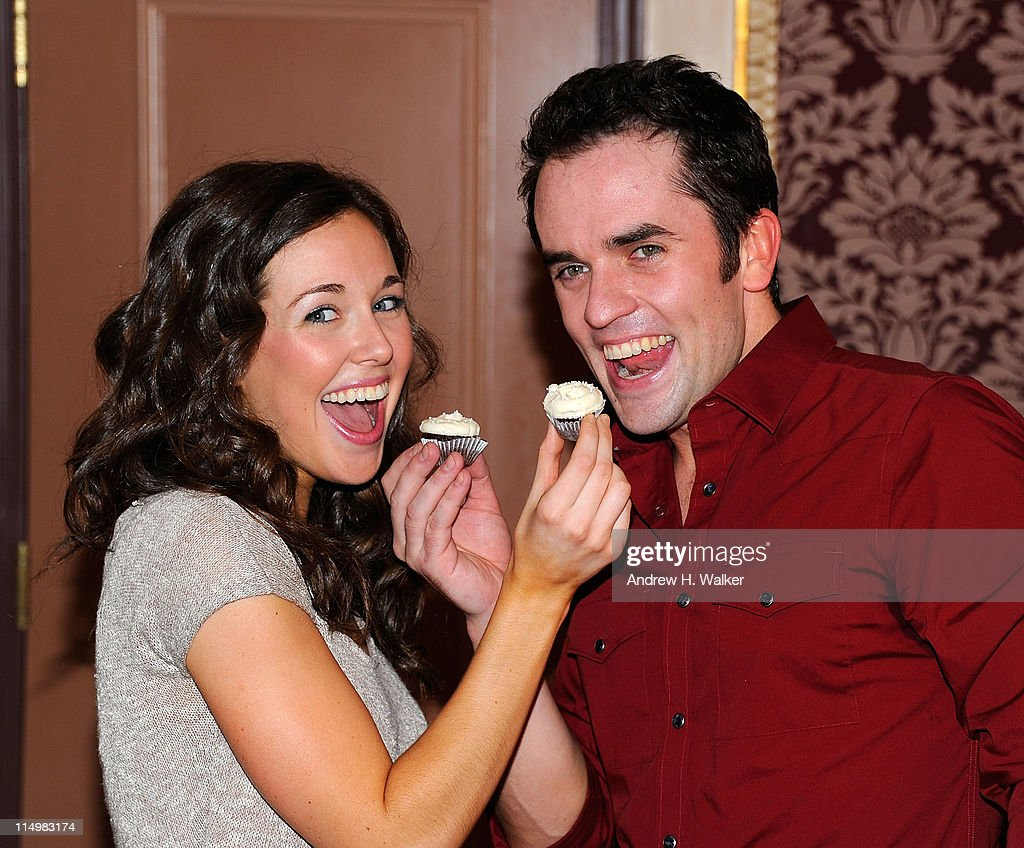 actors liana hunt and cory greenan attend the celebration for the picture id114983174