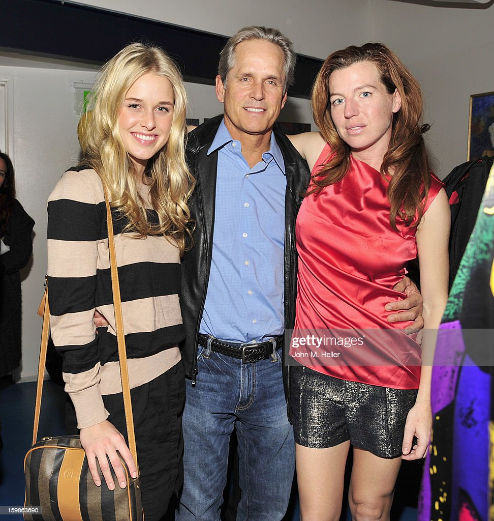 Actors Lily Anne Harrison, <a gi-track='captionPersonalityLinkClicked' href=/galleries/search?phrase=Gregory+Harrison&family=editorial&specificpeople=706235 ng-click='$event.stopPropagation()'>Gregory Harrison</a> and <a gi-track='captionPersonalityLinkClicked' href=/galleries/search?phrase=Tanna+Frederick&family=editorial&specificpeople=3991940 ng-click='$event.stopPropagation()'>Tanna Frederick</a> attend the opening night of 'The Rainmaker' at Edgemar Center For The Arts on January 11, 2013 in Santa Monica, California.