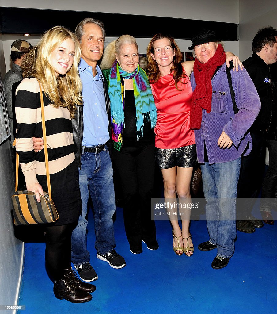 Actors Lily Anne Harrison, <a gi-track='captionPersonalityLinkClicked' href=/galleries/search?phrase=Gregory+Harrison&family=editorial&specificpeople=706235 ng-click='$event.stopPropagation()'>Gregory Harrison</a>, <a gi-track='captionPersonalityLinkClicked' href=/galleries/search?phrase=Sally+Kirkland&family=editorial&specificpeople=206468 ng-click='$event.stopPropagation()'>Sally Kirkland</a>, <a gi-track='captionPersonalityLinkClicked' href=/galleries/search?phrase=Tanna+Frederick&family=editorial&specificpeople=3991940 ng-click='$event.stopPropagation()'>Tanna Frederick</a> and producer/director <a gi-track='captionPersonalityLinkClicked' href=/galleries/search?phrase=Henry+Jaglom&family=editorial&specificpeople=1182557 ng-click='$event.stopPropagation()'>Henry Jaglom</a> attend the opening night of 'The Rainmaker' at Edgemar Center For The Arts on January 11, 2013 in Santa Monica, California.
