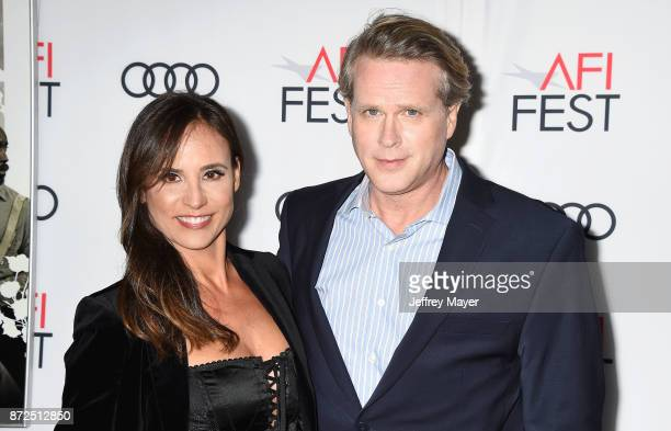 Actors Lisa Marie Kubikoff and Cary Elwes attend the screening of Netflix's 'Mudbound' at the Opening Night Gala of AFI FEST 2017 presented by Audi...