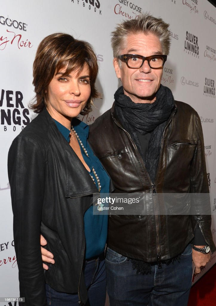Actors Lisa Rinna and Harry Hamlin attend the 'Silver Linings Playbook' Los Angeles special screening at the Academy of Motion Picture Arts and Sciences on November 19, 2012 in Beverly Hills, California.