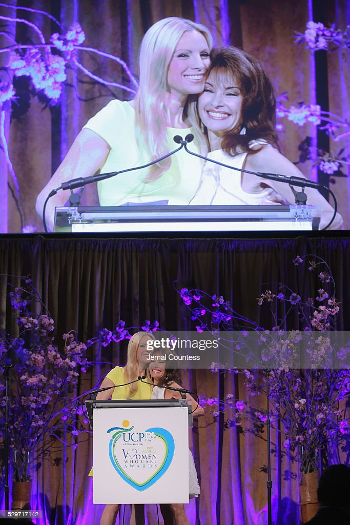 Actors Liza Huber and Susan Lucci attend the 15th Annual Women Who Care luncheon benefiting United Cerebral Palsy of New York City at Cipriani on May...