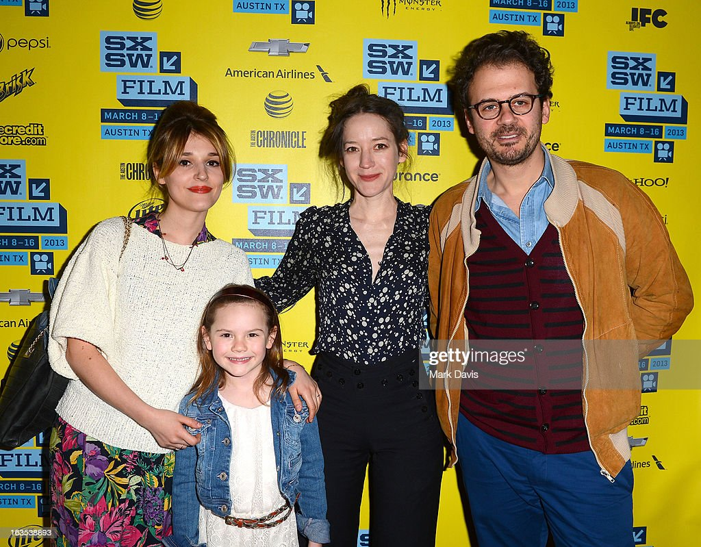 Actors Lola Bessis, Olivia Costello, Brooke Bloom and writer Ruben Amar attend the 'Swim Little Fish Swim' photo op held at the 2013 SXSW Music, Film + Interactive Festival at held at the Alamo Ritz on March 11, 2013 in Austin, Texas.