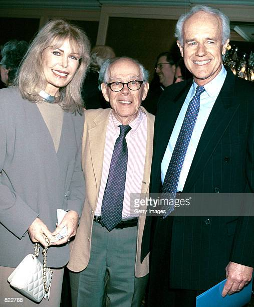 Actors Loretta Swit Harry Morgan and DPF's President Mike Farrell attend the Los Angeles chapter of Death Penalty Focus'' 10th Annual awards banquet...