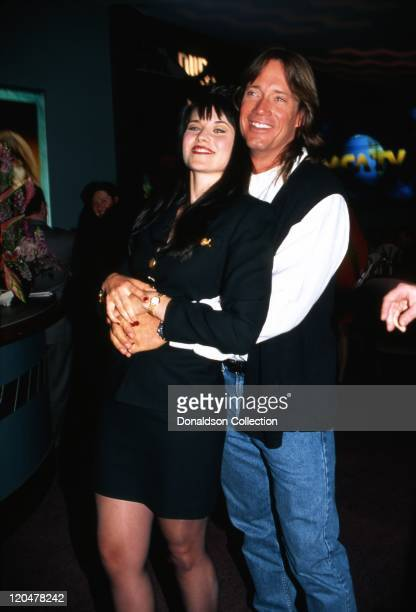 Actors Lucy Lawless and Kevin Sorbo attend an MCA Television promtional event for their TV shows 'Xena Warrior Princess' and 'Hercules The Legendary...