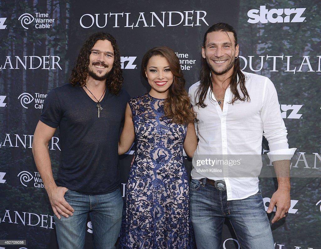 """Starz Series """"Outlander"""" Premiere - Comic-Con ..."""