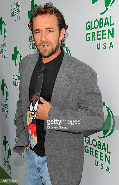 Actors Luke Perry arrives at Global Green USA's 13th Annual Millennium Awards at the Fairmont Miramar Hotel on May 30 2009 in Santa Monica California