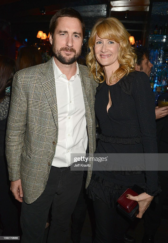 Actors <a gi-track='captionPersonalityLinkClicked' href=/galleries/search?phrase=Luke+Wilson+-+Actor&family=editorial&specificpeople=210582 ng-click='$event.stopPropagation()'>Luke Wilson</a> and <a gi-track='captionPersonalityLinkClicked' href=/galleries/search?phrase=Laura+Dern&family=editorial&specificpeople=204203 ng-click='$event.stopPropagation()'>Laura Dern</a> attend the 'Enlightened' Season 2 Premiere presented by HBO at Avalon on January 10, 2013 in Hollywood, California.