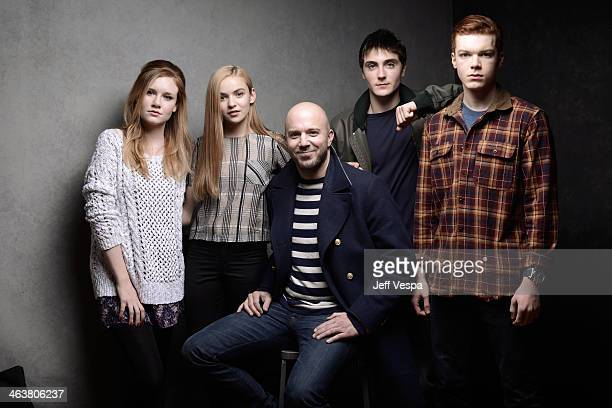 Actors Madisen Beaty and Morgan Saylor filmmaker Carter Smith and actors Noah Silver and Cameron Monaghan pose for a portrait during the 2014...