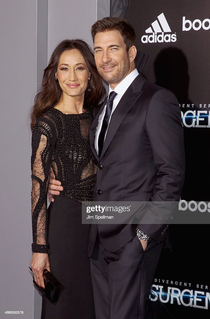 Actors <a gi-track='captionPersonalityLinkClicked' href=/galleries/search?phrase=Maggie+Q&family=editorial&specificpeople=555127 ng-click='$event.stopPropagation()'>Maggie Q</a> and <a gi-track='captionPersonalityLinkClicked' href=/galleries/search?phrase=Dylan+McDermott&family=editorial&specificpeople=211496 ng-click='$event.stopPropagation()'>Dylan McDermott</a> attend the 'The Divergent Series: Insurgent' New York premiere at Ziegfeld Theater on March 16, 2015 in New York City.