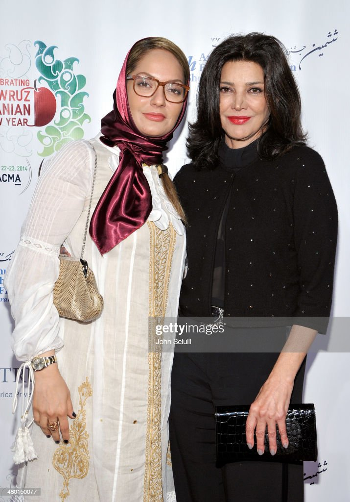 Actors Mahnaz Afshar and <a gi-track='captionPersonalityLinkClicked' href=/galleries/search?phrase=Shohreh+Aghdashloo&family=editorial&specificpeople=210536 ng-click='$event.stopPropagation()'>Shohreh Aghdashloo</a> attend the 6th Annual Farhang Foundation's Short Film Festival award ceremony and reception at LACMA on March 22, 2014 in Los Angeles, California.