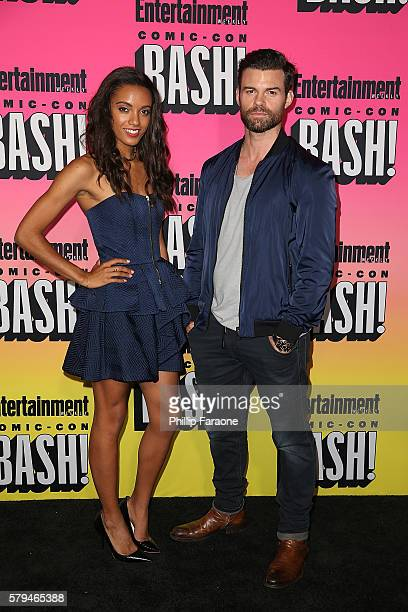 Actors Maisie RichardsonSellers and Daniel Gillies attend Entertainment Weekly's Annual ComicCon Party 2016 at Float at Hard Rock Hotel San Diego on...