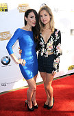 Actors Mandy Amano and Amelia Jackson Gray arrive for the 2nd Annual North Hollywood Cinefest with proceeds benefitting cervical breast cancer...