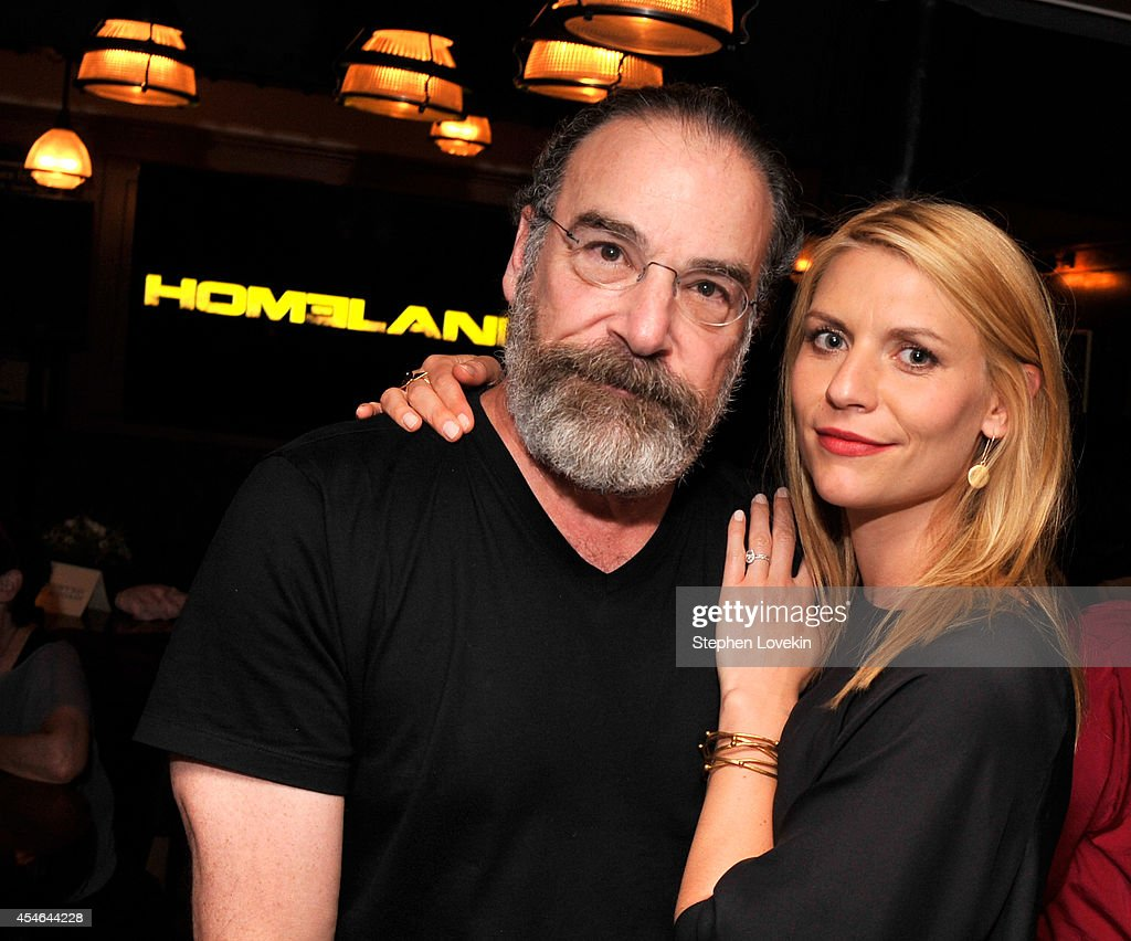 Actors Mandy Patinkin and Claire Danes attend a Private Reception And Screening Of Homeland Season 4 on September 4 2014 in New York City