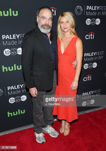Actors Mandy Patinkin and Claire Danes attend the PaleyFest New York 2016 'Homeland' screening and panel discussion at The Paley Center for Media on...