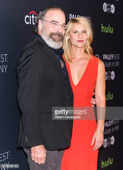 Actors Mandy Patinkin and Claire Danes attends the PaleyFest New York 2016 'Homeland' screening and panel discussion at The Paley Center for Media on...