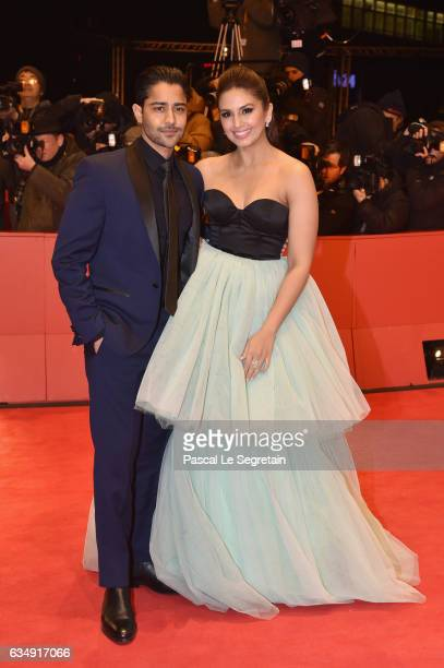 Actors Manish Dayal and Huma Qureshi attend the 'Viceroy's House' premiere during the 67th Berlinale International Film Festival Berlin at Berlinale...