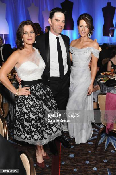 Actors Marcia Gay Harden Thomas Gibson and Kate Beckinsale attend the 14th Annual Costume Designers Guild Awards With Presenting Sponsor Lacoste held...
