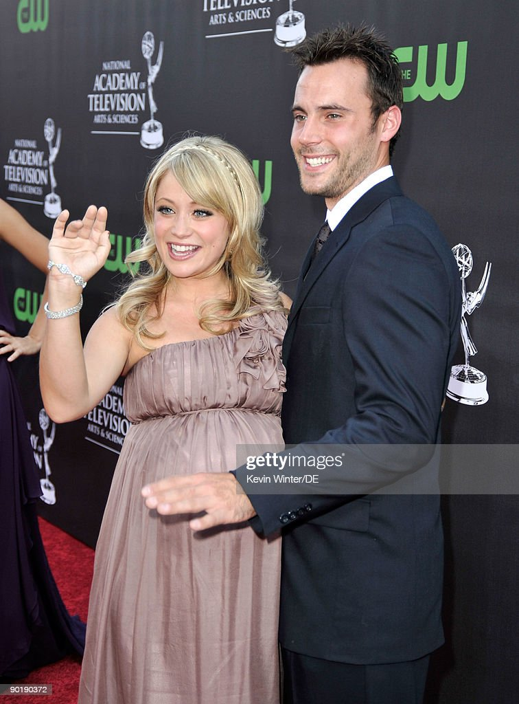 Actors Marcy Rylan and Don Money arrive at the 36th Annual Daytime Emmy Awards at The Orpheum Theatre on August 30, 2009 in Los Angeles, California.