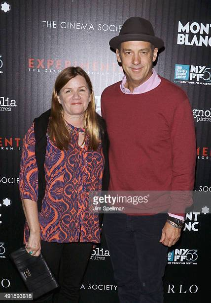 Actors Mare Winningham and Anthony Edwards attend Montblanc The Cinema Society host a party for The New York Film Festival premiere of Magnolia...