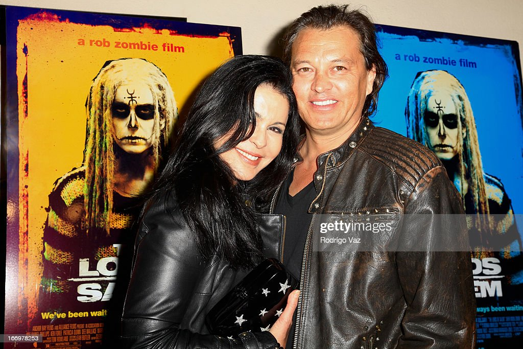 Actors <a gi-track='captionPersonalityLinkClicked' href=/galleries/search?phrase=Maria+Conchita+Alonso&family=editorial&specificpeople=208900 ng-click='$event.stopPropagation()'>Maria Conchita Alonso</a> (L) and Wayne Tothe (R) arrive at Rob Zombie's 'The Lords Of Salem' Los Angeles Premiere at AMC Burbank 16 on April 18, 2013 in Burbank, California.