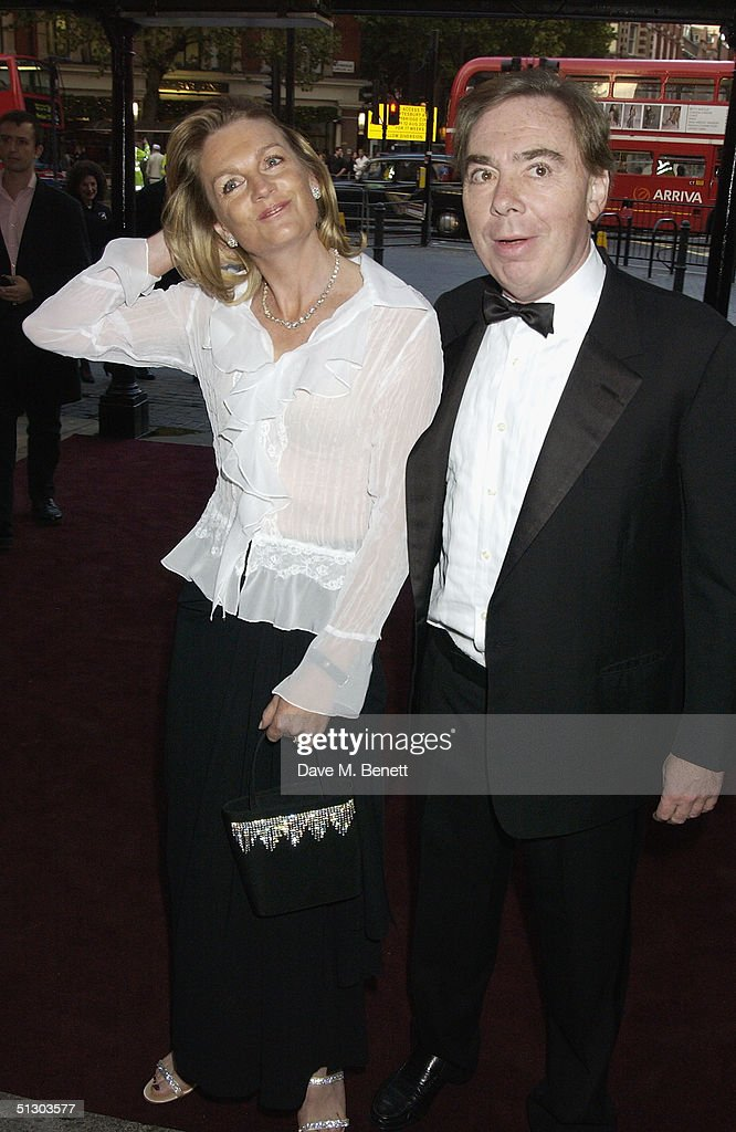 Actors Maria Friedman (Marian Halcombe) and Michael Crawford (Count Fosco) attend the Royal Gala Premiere of Lord Andrew Lloyd Webber's new musical 'The Woman In White' at the Palace Theatre, Shaftesbury Avenue on September 13, 2004 in London.