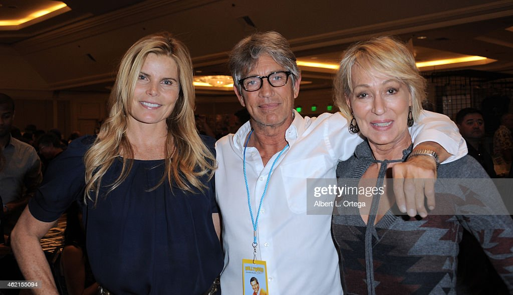 Actors Mariel Hemingway, Eric Roberts and Sandahl Bergman at The Hollywood Show held at The Westin Hotel LAX on January 24, 2015 in Los Angeles, California.