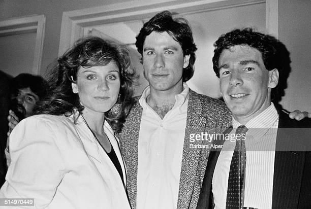 Actors Marilu Henner and John Travolta New York City 23rd May 1985