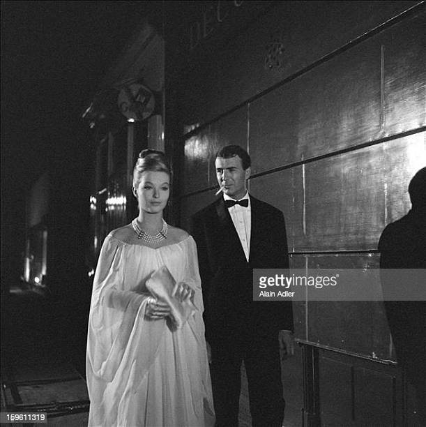 Actors Marina Vlady and JeanPierre Marielle star in 'Climats' a film by Stellio Lorenzi France 27th August 1961