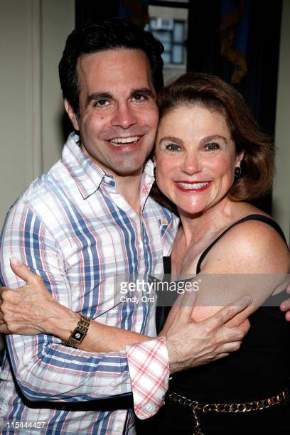 Actors Mario Cantone and Tovah Feldshuh attend Celebrity Autobiography Salutes The 2011 Tony Awards at New York's Triad Theater on June 6 2011 in New...