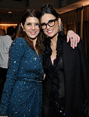 Actors Marisa Tomei and Demi Moore attend the Weinstein Company Netflix's 2016 SAG after party hosted by Absolut Elyx at Sunset Tower on January 30...