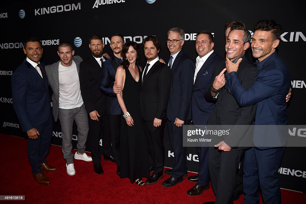 Actors Mark Consuelos Nick Jonas Matt Lauria Jonathan Tucker Joanna Going creator/EP Byron Balasco Dan York Executive Vice President and Chief...