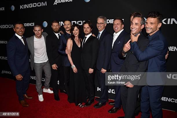 Actors Mark Consuelos Nick Jonas Matt Lauria Jonathan Tucker Joanna Going creator/EP Byron Balasco Dan York Executive Vice President and Chief...