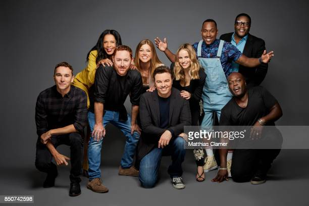 Actors Mark Jackson Penny Gerald Johnson Scott Grimes Adrianne Palicki Seth MacFarlane Halston Sage J Lee Chad Coleman and Peter Macon from The...