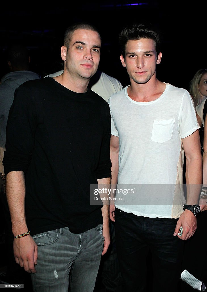 Actors Mark Salling and Daren Kagasoff attend the BlackBerry Torch from ATT US Launch Party on August 11 2010 in Los Angeles California