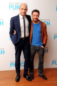 Actors Mark Strong and James McAvoy attend the 'Welcome To The Punch' UK Premiere at the Vue West End on March 5 2013 in London England