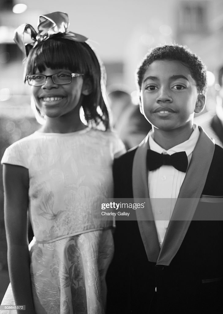 Actors <a gi-track='captionPersonalityLinkClicked' href=/galleries/search?phrase=Marsai+Martin&family=editorial&specificpeople=12819653 ng-click='$event.stopPropagation()'>Marsai Martin</a> (L) and <a gi-track='captionPersonalityLinkClicked' href=/galleries/search?phrase=Miles+Brown&family=editorial&specificpeople=6931307 ng-click='$event.stopPropagation()'>Miles Brown</a> attend the 47th NAACP Image Awards presented by TV One at Pasadena Civic Auditorium on February 5, 2016 in Pasadena, California.