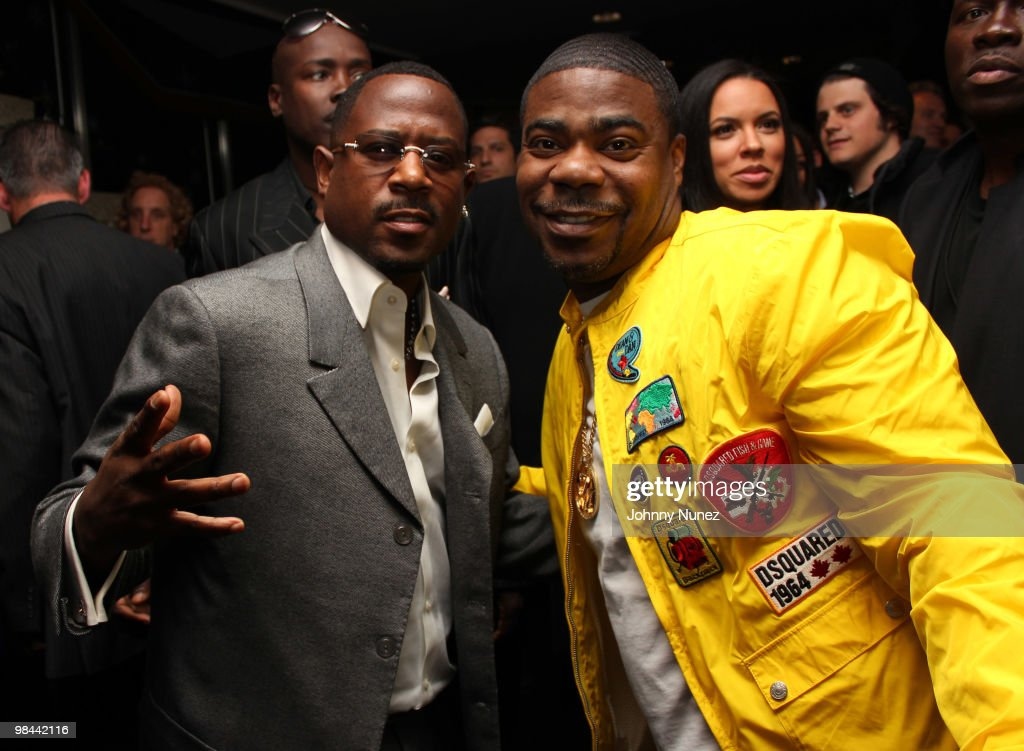 Actors <a gi-track='captionPersonalityLinkClicked' href=/galleries/search?phrase=Martin+Lawrence&family=editorial&specificpeople=226555 ng-click='$event.stopPropagation()'>Martin Lawrence</a> and <a gi-track='captionPersonalityLinkClicked' href=/galleries/search?phrase=Tracy+Morgan&family=editorial&specificpeople=182428 ng-click='$event.stopPropagation()'>Tracy Morgan</a> attend the 'Death At A Funeral' Los Angeles Premiere at Pacific's Cinerama Dome on April 12, 2010 in Hollywood, California.