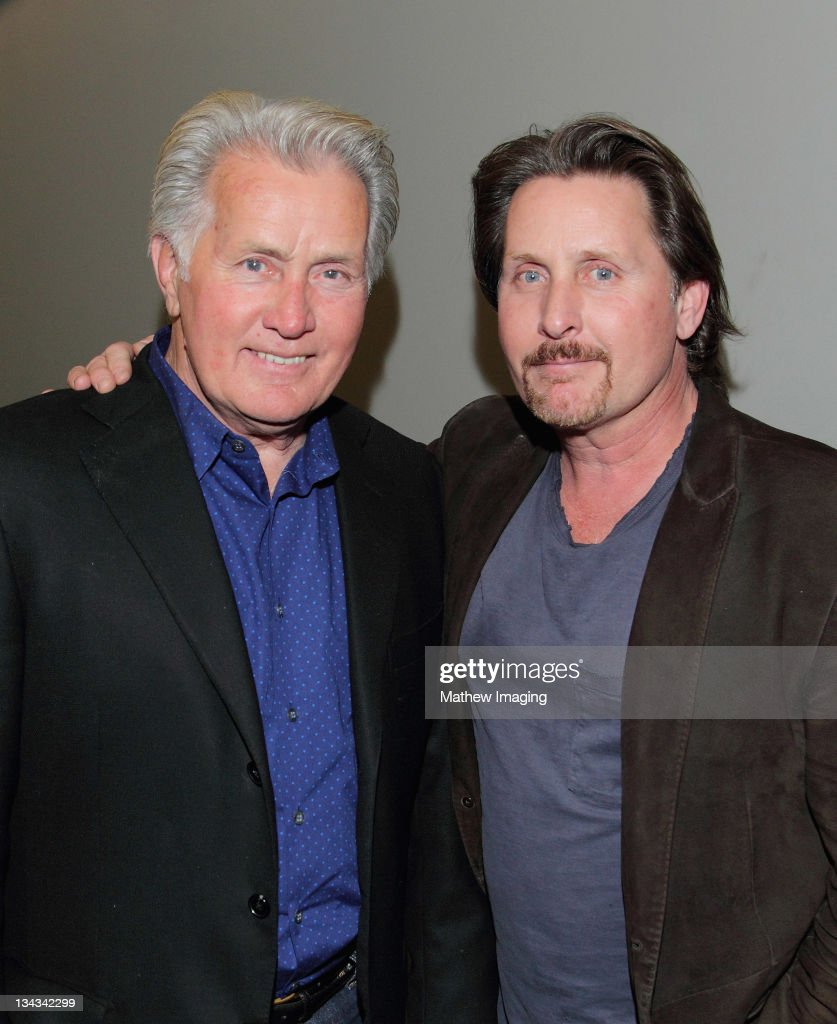 martin sheen stock photos and pictures getty images actors martin sheen and emilio estevez attend the way screening and reception at the middot