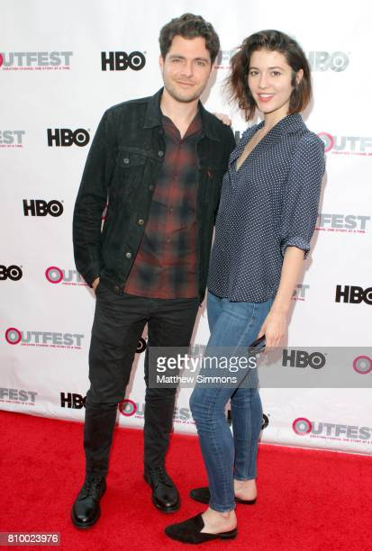 Actors Mary Elizabeth Winstead and Ben Lewis attend the opening night gala of 'God's Own Country' at the 2017 Outfest Los Angeles LGBT Film Festival...