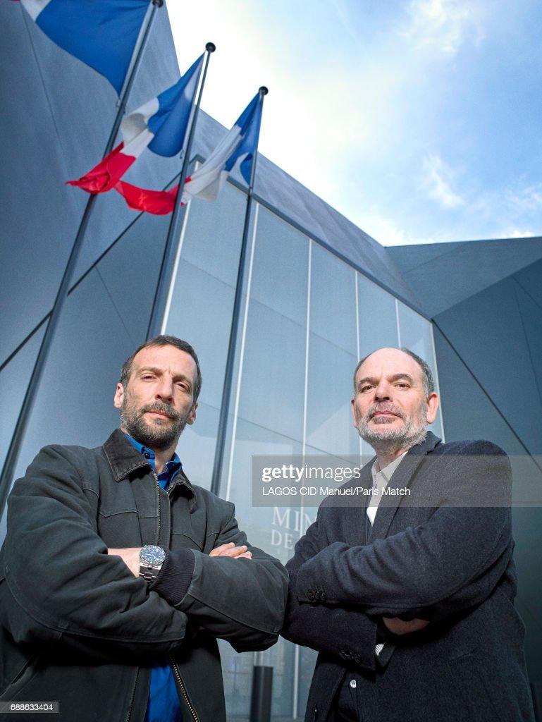 Darroussin & Kassovitz, Paris Match Issue 3548, May 23, 2017