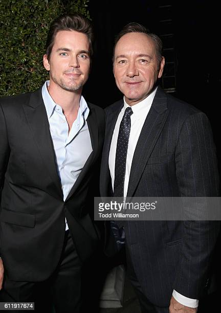 Actors Matt Bomer and Kevin Spacey attend the MPTF 95th anniversary celebration with 'Hollywood's Night Under The Stars' at MPTF Wasserman Campus on...