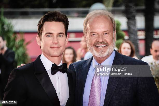 US Actors Matthew Bomer and Kelsey Grammer from 'The Last Tycoon' attend the 57th Monte Carlo TV Festival Day 3 on June 18 2017 in MonteCarlo Monaco