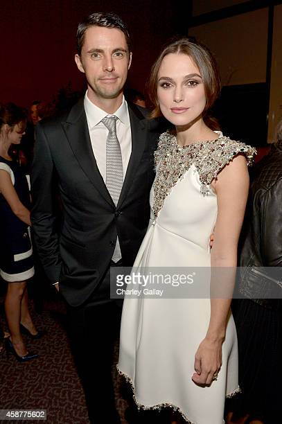 Actors Matthew Goode and Keira Knightley attend The Weinstein Company's 'The Imitation Game' Los Angeles special screening hosted by CHANEL on...