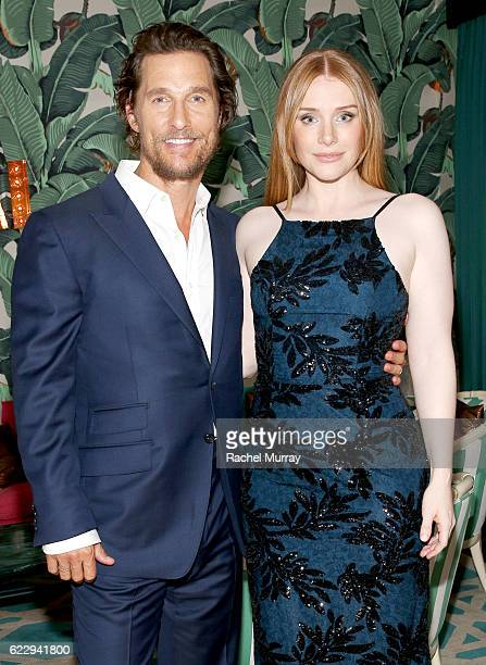 Actors Matthew McConaughey and Bryce Dallas Howard attend as The Weinstein Company celebrates the cast and filmmakers of 'Sing Street' 'Lion' 'The...