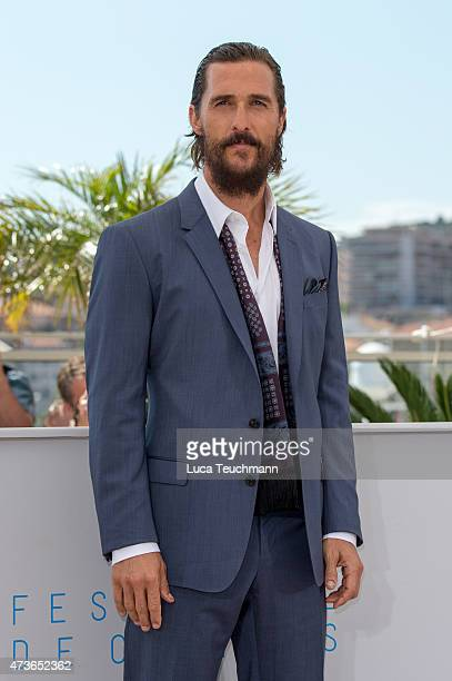 Actors Matthew McConaughey attends 'The Sea Of Trees' Photocall during the 68th annual Cannes Film Festival on May 16 2015 in Cannes France