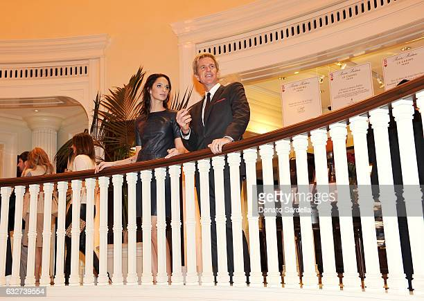 Actors Matthew Modine and daughter Ruby Modine attend 'Le Casino' night hosted by Brooks Brothers in Beverly Hills to benefit UCLA Jonsson Cancer...